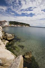 piran coastline slovenia