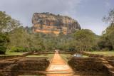 Sigiriya rock, Sri Lanka poster