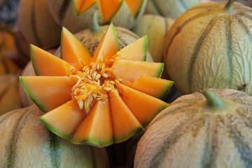 Melons au marché #3