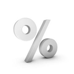 Buchstabe Prozent