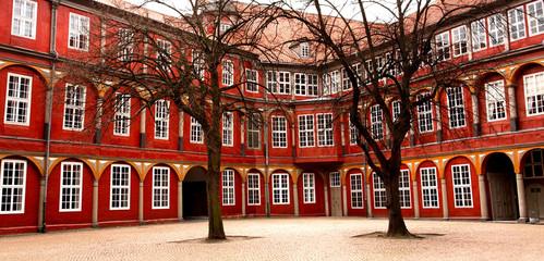 Im Schloss Wolfenbüttel