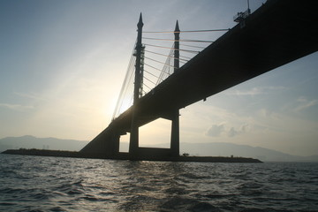 The penang bridge, longest in south east asia