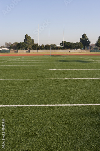 Detail of American Football Field