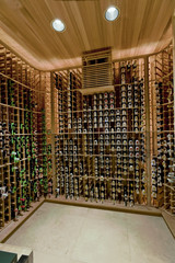 Domestic wine cellar