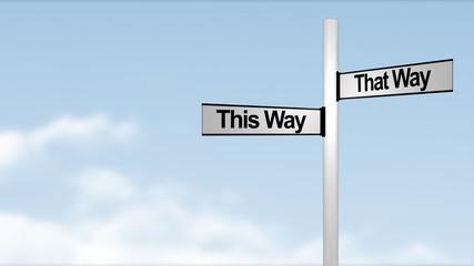 Business Decision Concept animation
