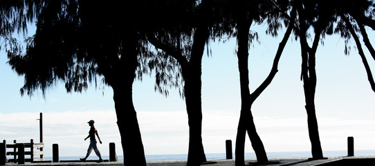 Beachside Silhouette