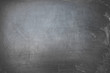 A blank school chalkboard with white chalk dust and smudges