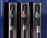 Gasoline station poster
