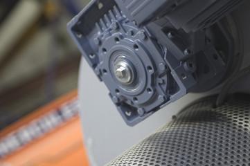 Metal industrial machine part