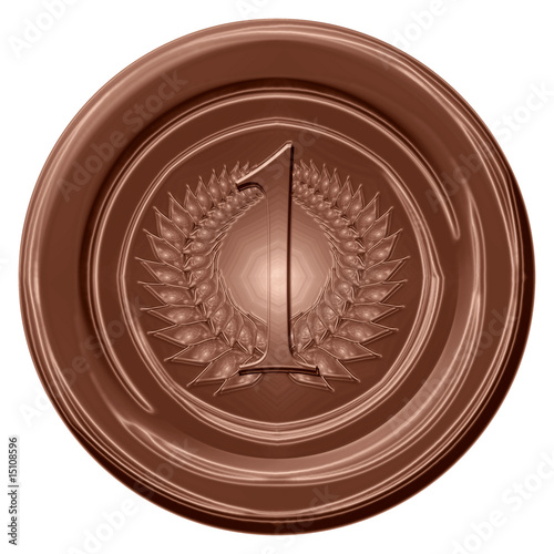 chocolate medal