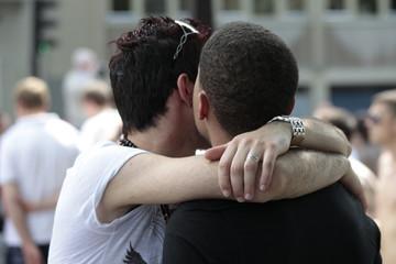 Couple gay - homosexuel