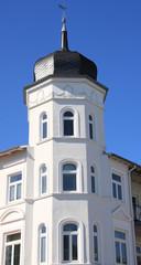 Historische Fassade in Binz