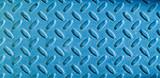 Diamond Blue Metal Background Texture