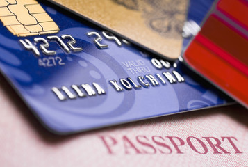 credit cards and passport