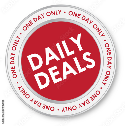 Daily Deals Sales Sticker