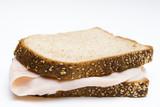 bocadillo con pan de semillas poster