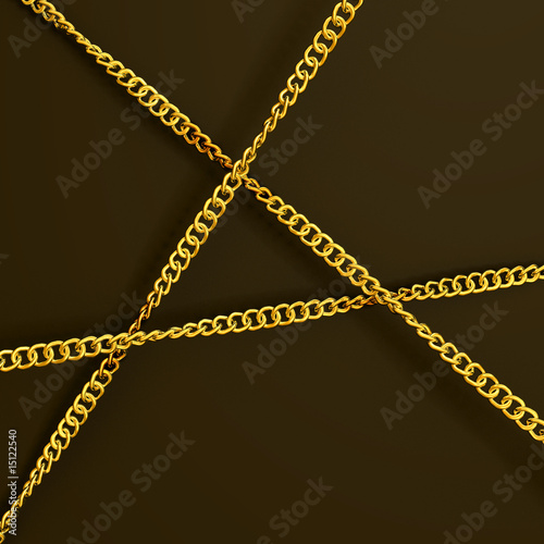 three golden chains