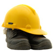 Safety Helmet and Safety Shoes