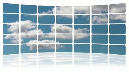 Monitor Nuvole