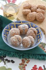 Amaretti al cocco - Dolci Emilia Romagna