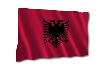 Albanien Flagge Fahne albania flag