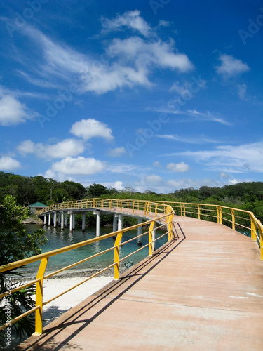 Long Bridge in Roatan