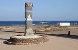 Traditional saline on Canary Island Fuerteventura, Spain poster