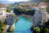 The Old Bridge, Mostar, Bosnia-Herzegovina poster