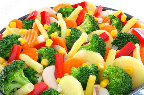 mixture of vegetables © fisz