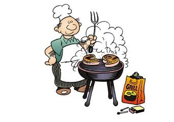 Grill und Koch