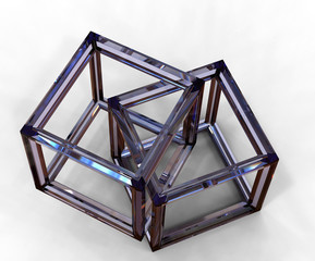 Intersecting Crystal Cubes