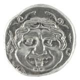 Medusa on Ancient Greek Half Drachm 300 BC poster