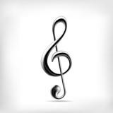 Fototapety Music note