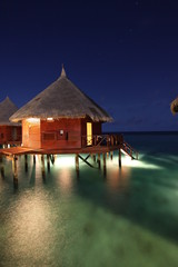 Water bungalow - Wasserbungalow
