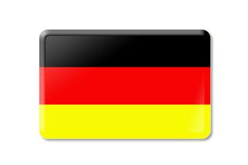 Deutschlandbutton rechteckig