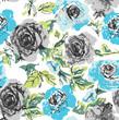 roleta: floral pattern background