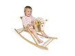 Toddler in a rocking chair