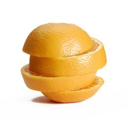 Ruedas de naranja.