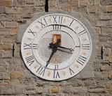 Clock on Romanesque Tower, Koper poster