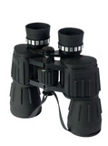 Binoculars on a white background. (isolated)