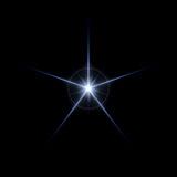 Lens Flare Star Burst poster
