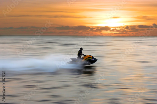 Canvas Water Motorsp. jetski