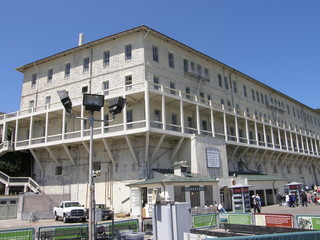 Alcatraz Island Prison in California