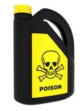 Toxic! Poison can poster