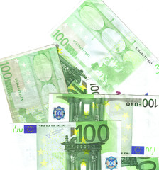 bunch of 100 euro notes