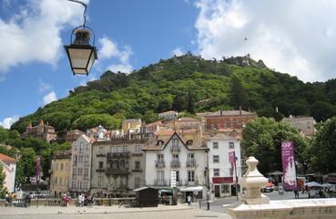 village de sintra et chateau des maures