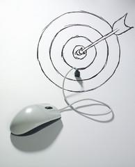 souris connectée usb cible