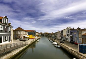 panoramica de aveiro, portugal