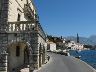 Perast, The Bay of Boka Kotorska, Montenegro