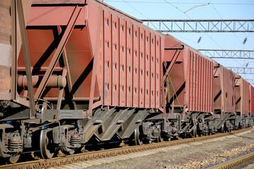 The cargo train